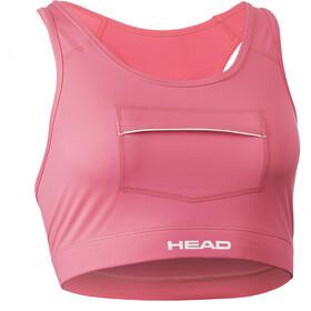 Head Swimrun Biustonosz z kieszonką Kobiety, pink